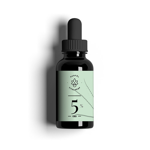 CBD-Öl 5% (10ml) in Bio-Hanföl